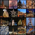Christmas and Winter Mosaic
